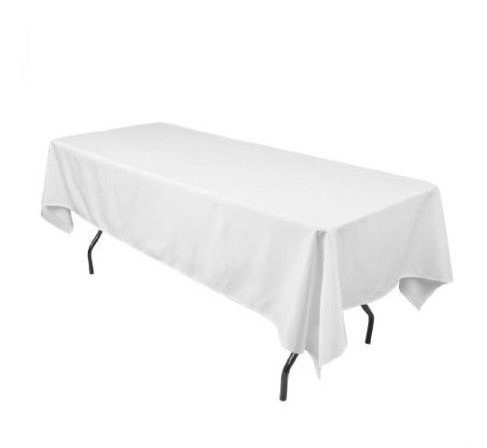 location nappe blanche 100 coton 210x260com table rect loc chapiteaux. Black Bedroom Furniture Sets. Home Design Ideas
